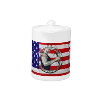American Made American Strong Teapot