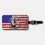 American Made American Strong Travel Bag Tags