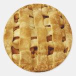 American Made Apple Pie Zig Zag Crust Stickers