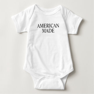 American Made Baby Bodysuit