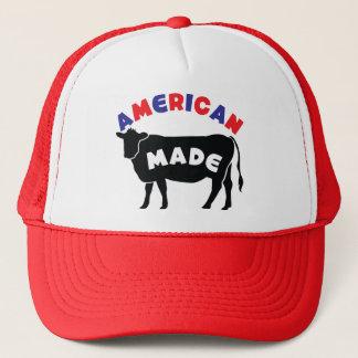 American made beef trucker hat