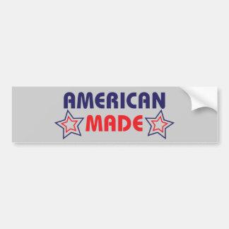 American Made Grey Bumper Sticker