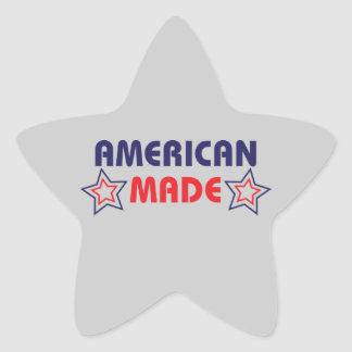 American Made Grey Stickers