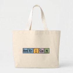 Jumbo Tote Bag with American design