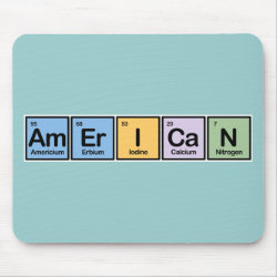 Mousepad with American design