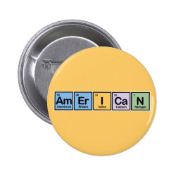 Round Button with American design
