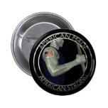 American Made Pinback Button