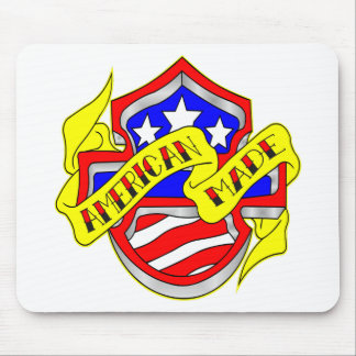 American Made Shield Mouse Pad