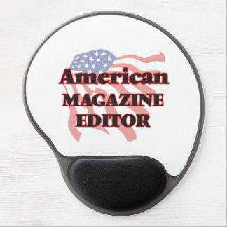 American Magazine Editor Gel Mouse Pad