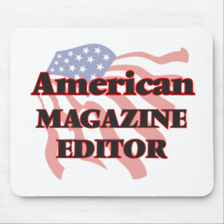 American Magazine Editor Mouse Pad