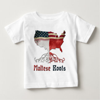 American Maltese Roots Baby T-Shirt