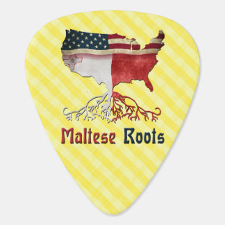 American Maltese Roots Guitar Pick
