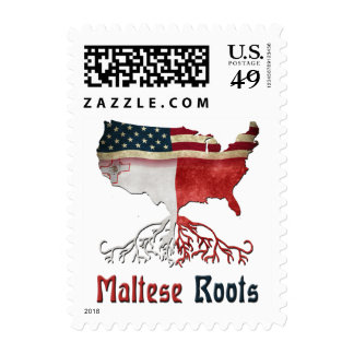 American Maltese Roots Postage