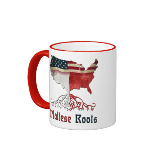 American Maltese Roots Ringer Mug
