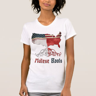 American Maltese Roots T Shirts
