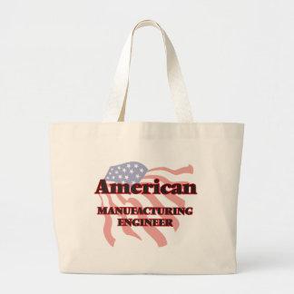 American Manufacturing Engineer Jumbo Tote Bag