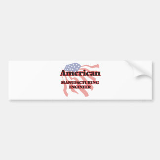 American Manufacturing Engineer Car Bumper Sticker