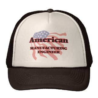 American Manufacturing Engineer Trucker Hat