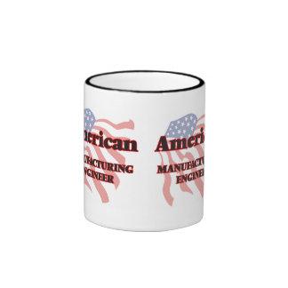 American Manufacturing Engineer Ringer Coffee Mug