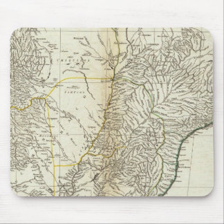 American Map Engraved Central Section Mouse Pad