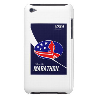American Marathon Achieve Something Poster iPod Case-Mate Case