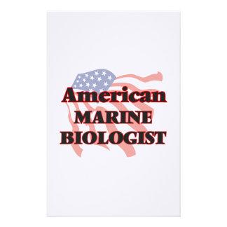 American Marine Biologist Stationery