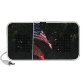 American Marines Flag Portable Speaker