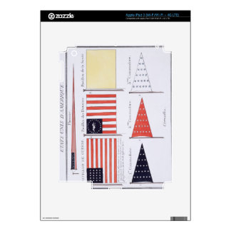 American Maritime Flags and Pennants, from a Frenc iPad 3 Decals