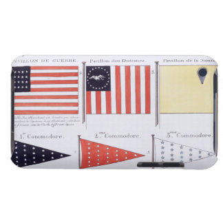 American Maritime Flags and Pennants, from a Frenc iPod Case-Mate Case