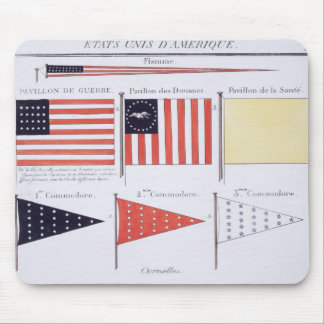 American Maritime Flags and Pennants, from a Frenc Mouse Pad