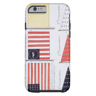 American Maritime Flags and Pennants, from a Frenc Tough iPhone 6 Case