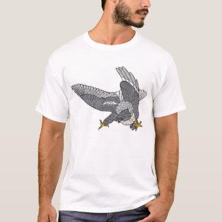 American Marsch Hawk (Attacking) T-Shirt