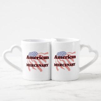 American Mercenary Couples' Coffee Mug Set