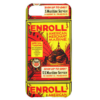 American Merchant Marine-Enroll Today iPhone 5C Cover