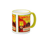 American Merchant Marine - Enroll Today ! Ringer Coffee Mug