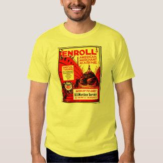 American Merchant Marine - Enroll Today Shirts