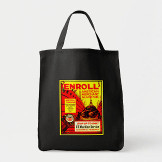 American Merchant Marine-Enroll Today Tote Bag