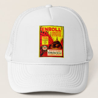 American Merchant Marine - Enroll Today Trucker Hat