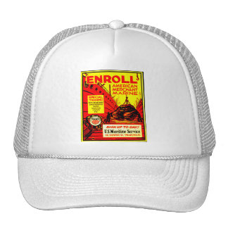 American Merchant Marine - Enroll Today Trucker Hat