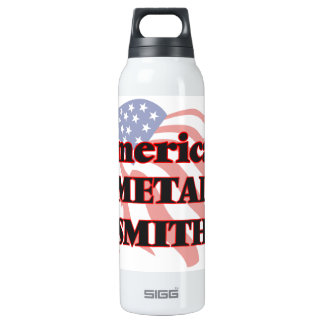 American Metal Smith 16 Oz Insulated SIGG Thermos Water Bottle