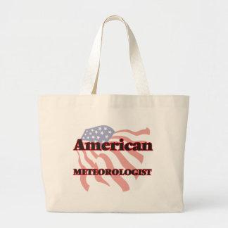 American Meteorologist Jumbo Tote Bag