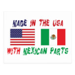 American Mexican American Post Card