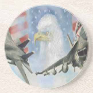 American Military Airplanes Coaster