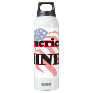 American Miner 16 Oz Insulated SIGG Thermos Water Bottle