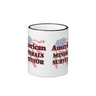 American Minerals Surveyor Ringer Coffee Mug