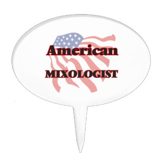 American Mixologist Cake Toppers