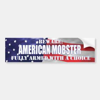 american mobster bumpsticker bumper sticker