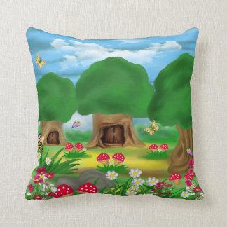 American MoJo Pillows,lansdcape Throw Pillow