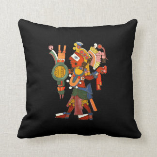 American MoJo Pillows with Mayan indian warrior