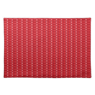 American Mojo Placemat Red Glitter